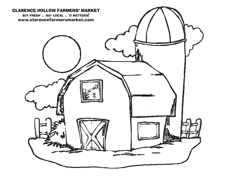 barn tractor coloring pages - photo#16